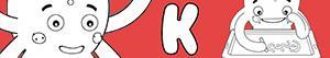K harfi ile erkekler isimleri boyama